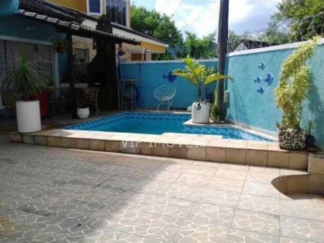 Casa à venda com 3 dormitórios em Recreio dos bandeirantes, Rio de janeiro cod:CGCA30293 - Foto 2