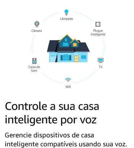 """Alexa Echo Dot 4ª Ger.<br>""""Twilight Azul"""" Produto Original. 3x S/Juros.<br>A Vista 10% - Foto 5"""