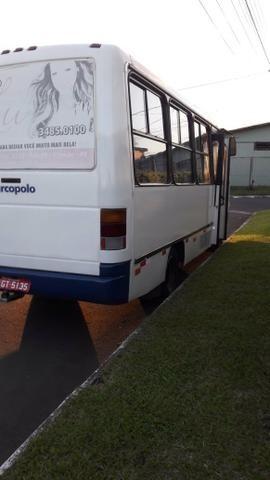 Vendo Micro ônibus Mercedes 814 - Foto 5