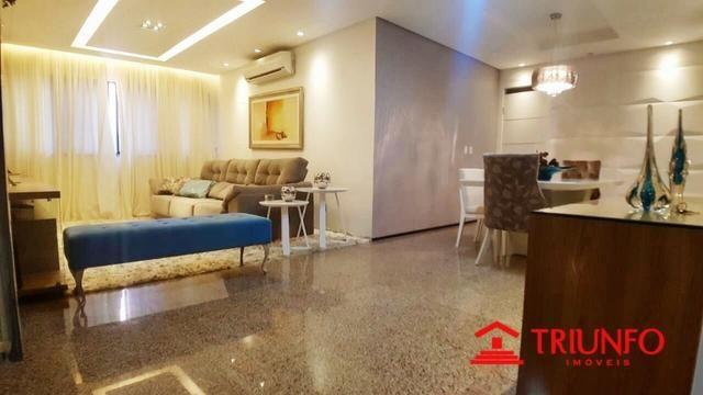 (HN) Apartamento de 137m² no Papicu - Todo Projetado - Ventilado - 3 quartos - Dce -2 vgs - Foto 6