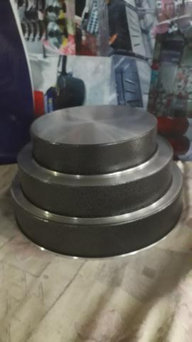 Forma redonda 3 peças