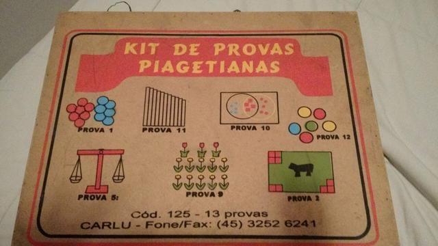 152532917bf Caixa piagetiana   provas piagetianas - Hobbies e coleções - Jardim ...