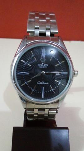 cebf0256232 Relógio Rolex Cellini Social aço Unissex Novo na caixa Frete grátis ...