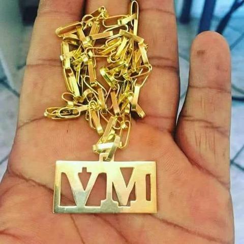 ebefd043db5 Cordão Estilo Cartier de prata 925 banhado a ouro 24k ...