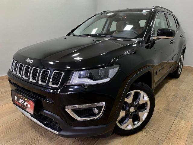 Jeep compass limited 2018 automática. léo careta veículos