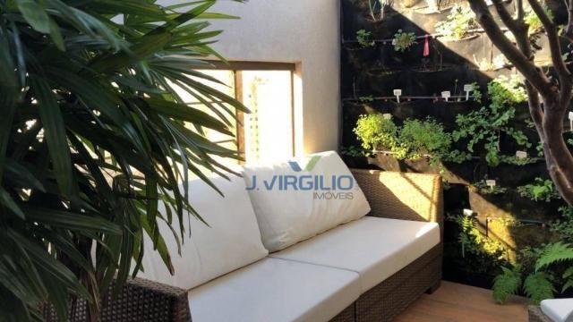 Apartamento triplex com 4 dormitórios à venda, 400 m² por r$ 1.399.000,00 - setor nova sui - Foto 8