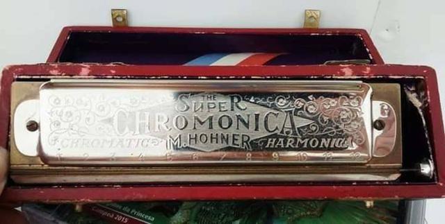 Harmonica M.Hohner cromatic