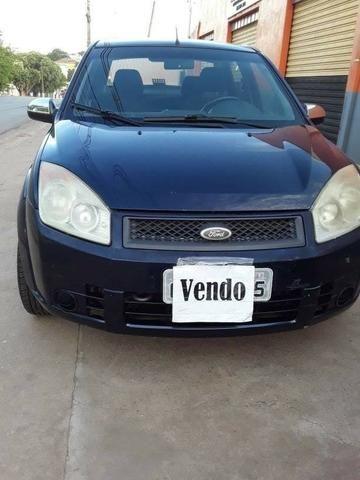 Fiesta sedan 1.6 Azul raridade * - Foto 6