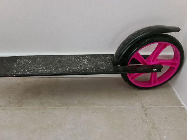 Patinete/scooter adulto usado duas vezes - Foto 5