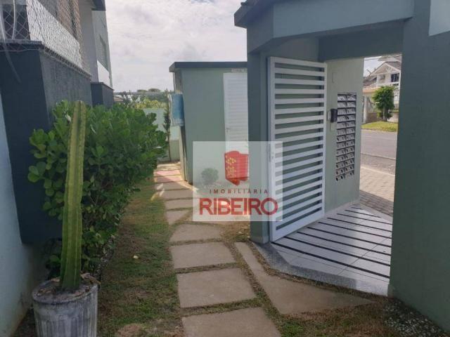 Apartamento com 2 dormitórios para alugar, 60 m² por R$ 770/mês - Urussanguinha - Ararangu