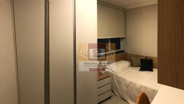 Apartamento para venda com 3 quartos e lazer completo no Guararapes - Foto 17