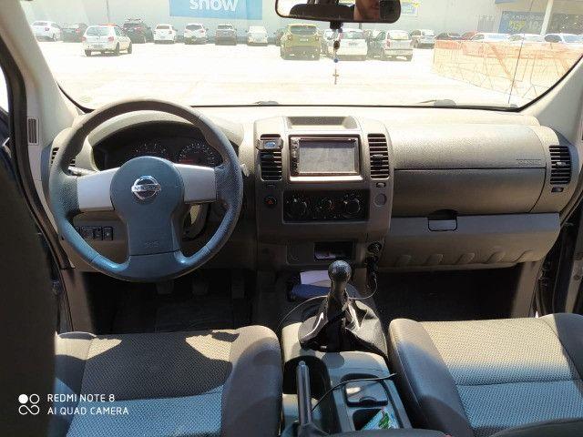 Frontier XE 2.5 Turbo Diesel. - Carro filé - Consigo Financiamento - 2015 - Foto 7