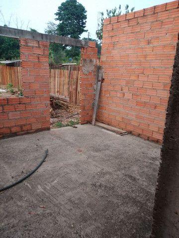 Vende-se está casa em fase de contrução valor 45000 aceita proposta - Foto 6