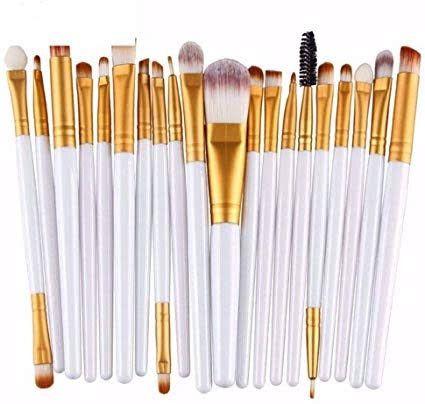 Pincel Para Maquiagem Kit Com 20 und - Foto 4