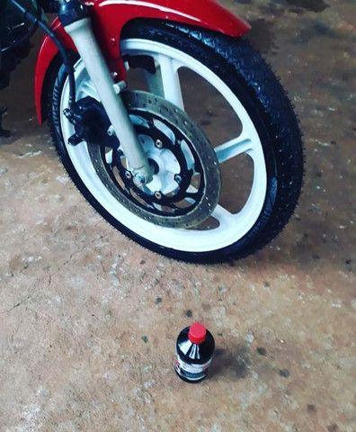 Diamante negro novo esmaltado impermeabilizante para pneu pretinho - Foto 7
