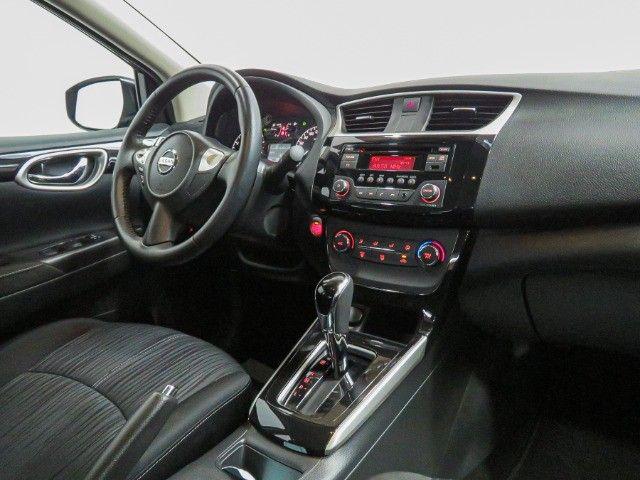 Nissan Sentra 2.0 S Flex Cambio CVT 2019 apenas 15.000 Km rodados  - Foto 11