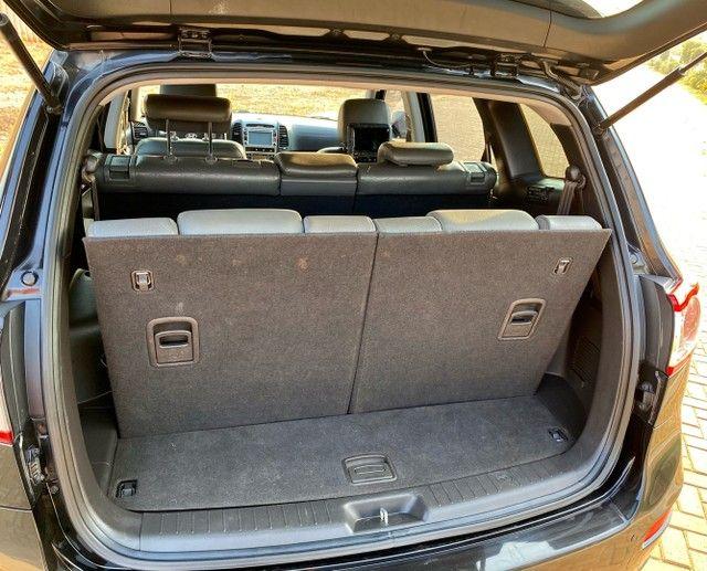 Hyundai Santa Fe 2011 3.5 v6 4x4 automático - 7 lugares- Teto solar- 285cv - Foto 13