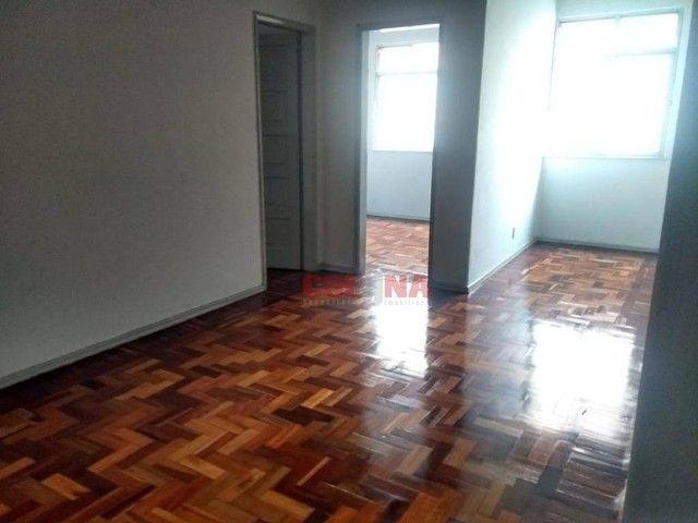 Apartamento com 2 dormitórios para alugar, 85 m² por R$ 1.000,00/mês - Centro - Niterói/RJ - Foto 3