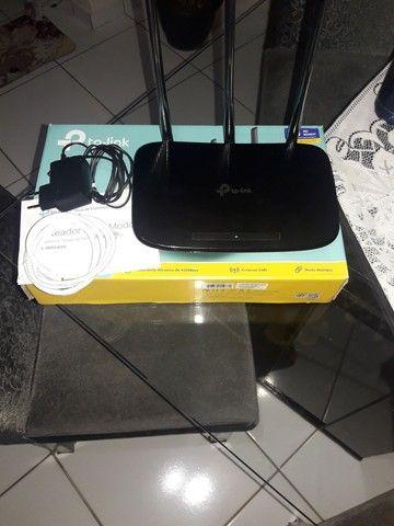 Roteador Tplink TL WR940N Wireless N450Mbps - Foto 2