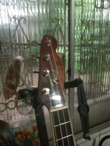 Ukulele Fender Nohea Electric Tenor Natural C/ Bag - Foto 6