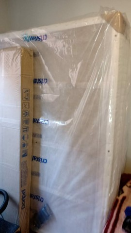 Cama box mais guarda roupa novo na  caixa se estiver interessado chama no zap  - Foto 2