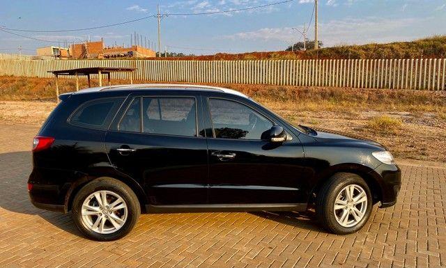 Hyundai Santa Fe 2011 3.5 v6 4x4 automático - 7 lugares- Teto solar- 285cv - Foto 8