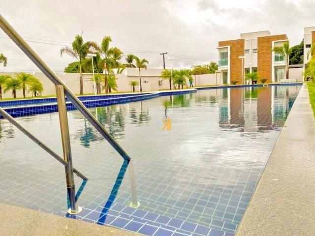 Casa com 3 dormitórios à venda, 95 m² por R$ 350.000,00 - Mangabeira - Eusébio/CE