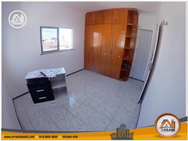 Apartamento com 3 dormitórios à venda, 120 m² por R$ 320.000,00 - Montese - Fortaleza/CE - Foto 11