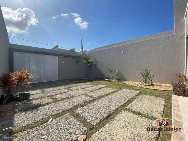 Casa com 3 dormitórios à venda, 90 m² por R$ 270.000 - Centro - Eusébio/CE - Foto 4