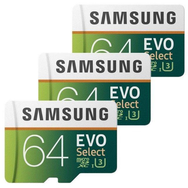 Cartão de Memória Samsung EVO Micro SD 64GB - Foto 3