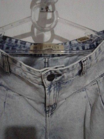 Calça Jeans 42 da Le lis blanck Semi nova R$ 69.00 - Foto 5