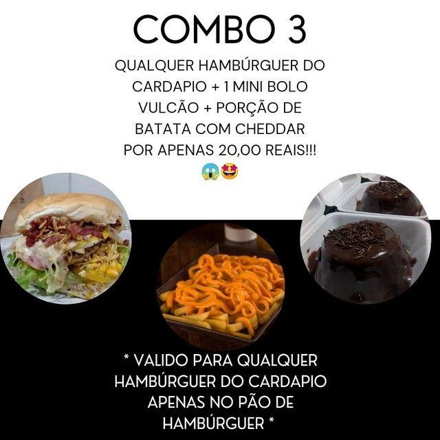 LANCHES E COMBOS - Foto 3