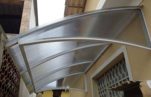 Pergolados-policarbonatos-toldos para janelas-portas de ACM! - Foto 3