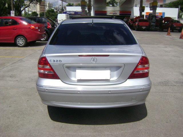 Mercedes Benz C 320 Avantgarde V6 Top de Linha 2005 Teto Solar Abaixo da Fipe C320 - Foto 6