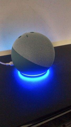 """Alexa Echo Dot 4ª Ger.<br>""""Twilight Azul"""" Produto Original. 3x S/Juros.<br>A Vista 10%"""