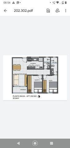 Apartamento 02 quartos Bancários com Varanda pé direito duplo Frente rua - Foto 16