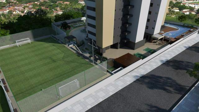 Edifício Fiori da Marroquim, 3 suítes, varanda