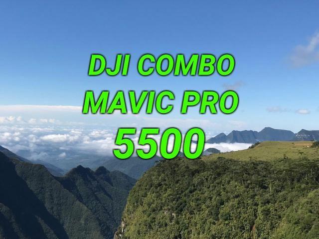 Drone DJI Combo Mavic Pro(Promoção)