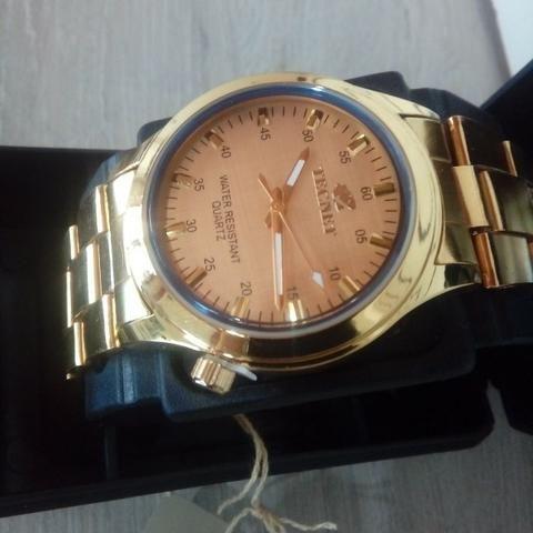 5d451329051 Relógio Tecnet Gold unisex (entrega grátis) 3x sem juros ...