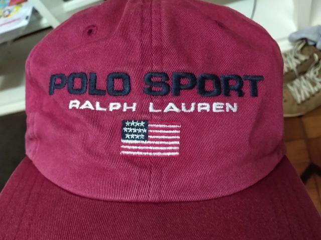 7c871ed2dc186 Boné Polo Sport Ralph Lauren Original Vintage Raro ACEITO CARTÃO ...