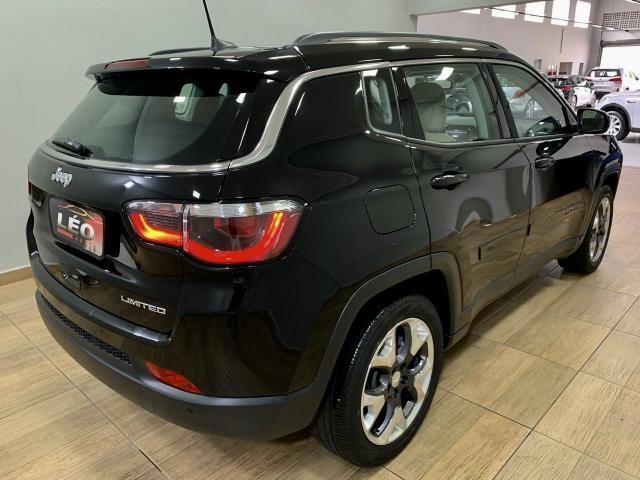 Jeep compass limited 2018 automática. léo careta veículos - Foto 8