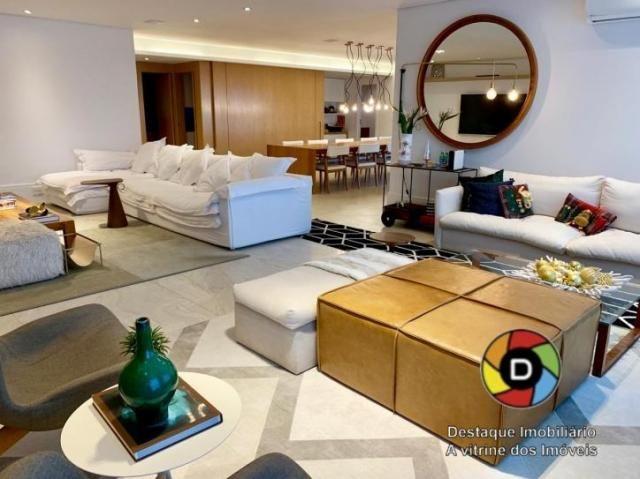 Apartamento à venda de 4 quartos no fontvieille na península, barra, rj.