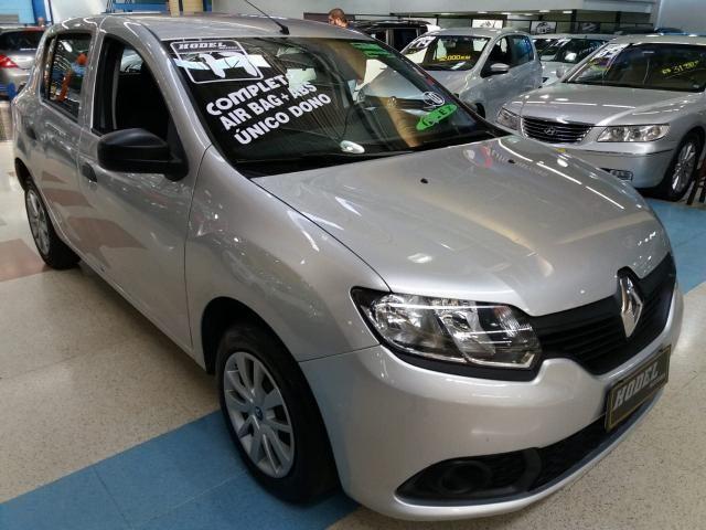 Renault sandero 1.0 12v sce authentique 2017 - Foto 3