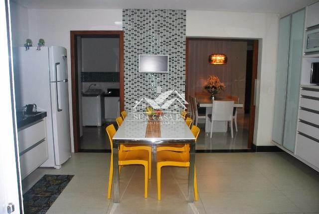 Ótima Mansão Duplex com 4 suítes, possui Hidro e Closet. Cond. Boulevard Lagoa - Foto 17