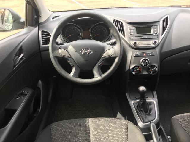 Hyundai Hb20 1.0 36mil km Impecável Ipva 2019 Pago Pneus Cabelo Completo Som no Volante - Foto 5