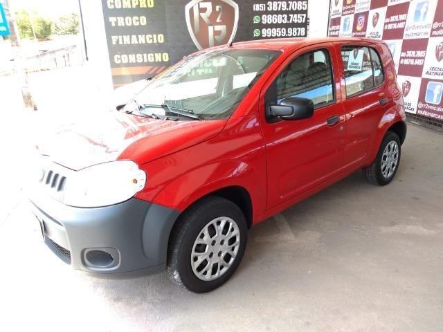 Fiat uno vivace 2012 ,1.0 4 portas completo revisado e com garantia! - Foto 3