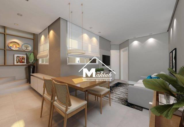 Cobertura com 2 dormitórios à venda, 88 m² por R$ 430.000,00 - Jardim - Santo André/SP