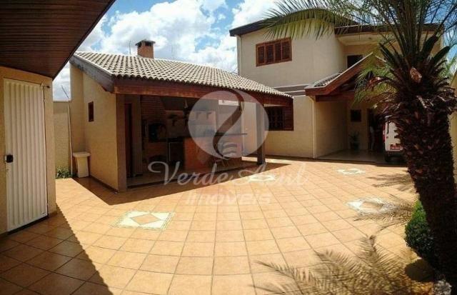 Casa à venda com 4 dormitórios em Jardim dona regina, Santa bárbara d'oeste cod:CA007648 - Foto 4