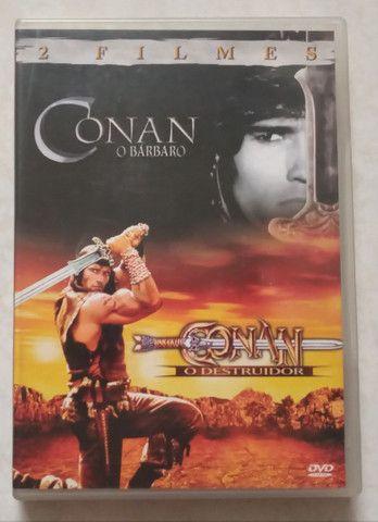 Filmes Arnold Schwarzenegger  - Troco por jogos de videogames - Foto 2