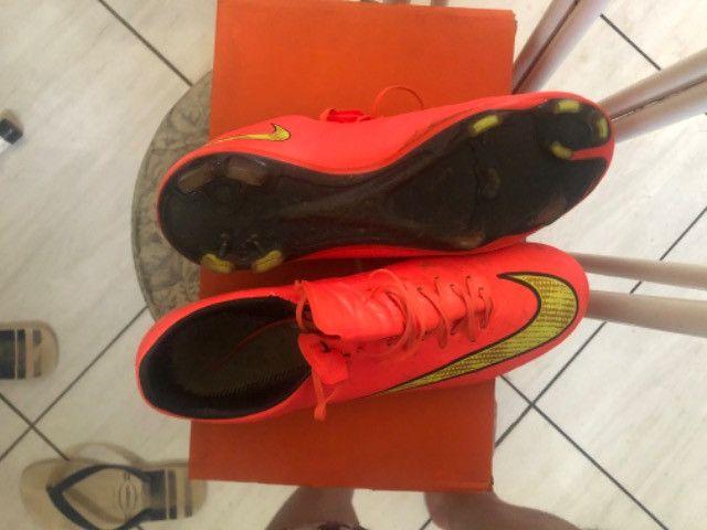 Chuteira Nike Mercurial 1ª Linha - Foto 4
